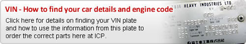 VIN Plate - How to order the correct parts