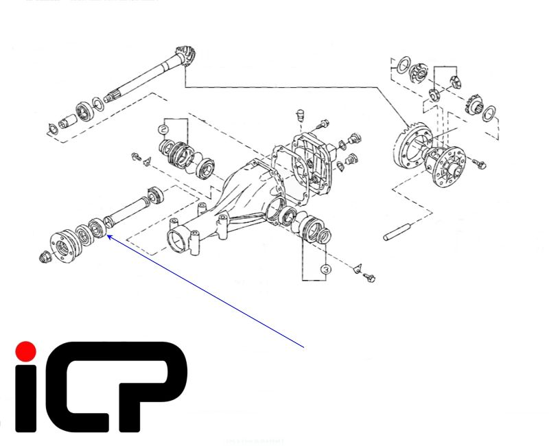Terrific Subaru Impreza Turbo R160 Rear Diff Bearing Rebuild Kit Wiring Digital Resources Llinedefiancerspsorg