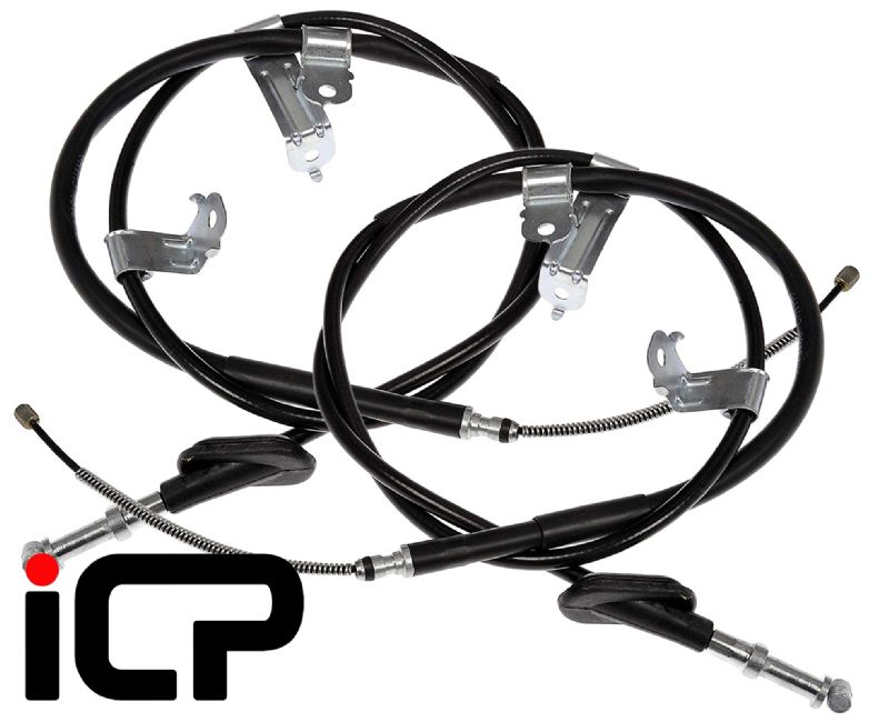 Genuine LH /& RH Handbrake Cable Fits Subaru Impreza Turbo 92-97 WRX STi Mcrae