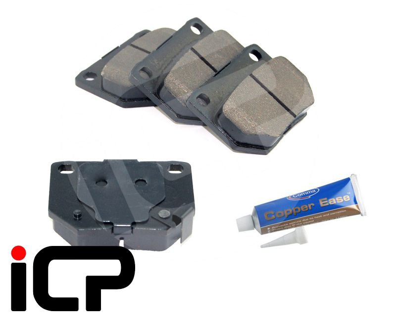 Nissan Skyline R32 GTS T RB20DET Rear Brake Pad Set /& Copper Ease Fits