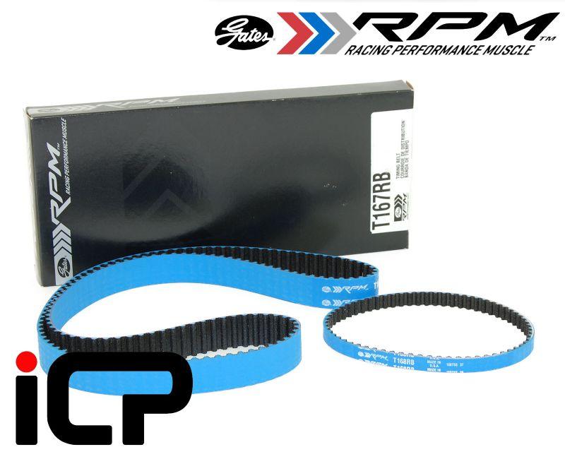 Mitsubishi Lancer Evo 4G63 Evolution Gates Racing RPM Timing Belt Kit Fits